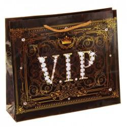 """Пакет ламинат горизонтальный """"VIP"""", 27 х23 см 829405"""
