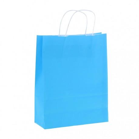 "Пакет крафт ""Радуга"" голубой, 25 х 32 х 11 см 1150012"
