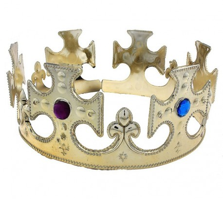 корона для царя золото 17*8 см 702355