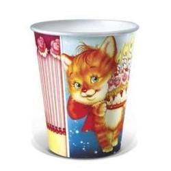 Набор стаканов Детский праздник Кошка 6шт