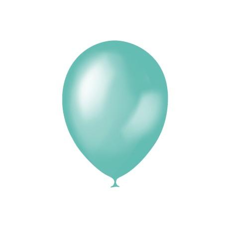 "M 12""/30см Металлик AQUA BLUE 635 100шт шар латекс"