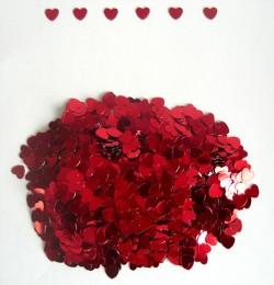 Конфетти Сердца Красные 14гр