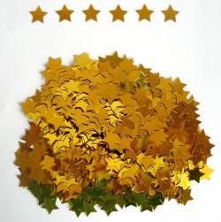 Конфетти Звезды Золотые 14гр