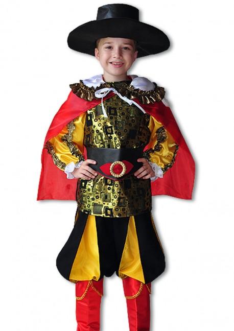 Детский костюм Кота в сапогах, 32 (110-116 см)
