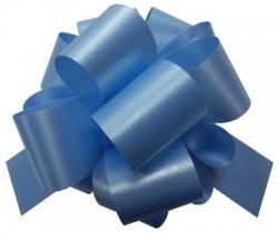 """Бант-шар PP Пастель 50 мм """"Гофре"""" Светло-голубой / 1 шт./ (Китай)"""