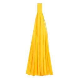 Помпон Кисточка 5 листов ярко-желтый