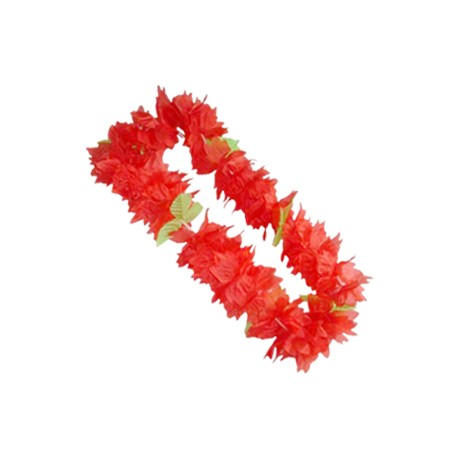 WB Венок гавайский красный