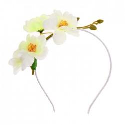 """Гавайский ободок """"Чайная роза"""" 1036702"""