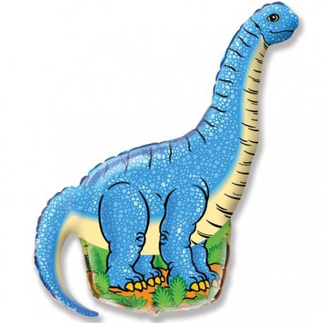 И 14 Диплодок (синий) / Diplodocus / 1 шт / (Испания)