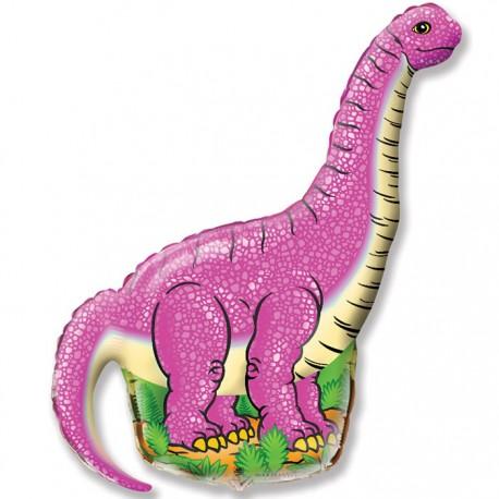И 14 Диплодок (фуксия) / Diplodocus / 1 шт / (Испания)