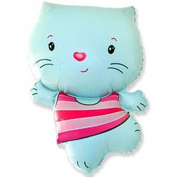 Котенок голубой 35см