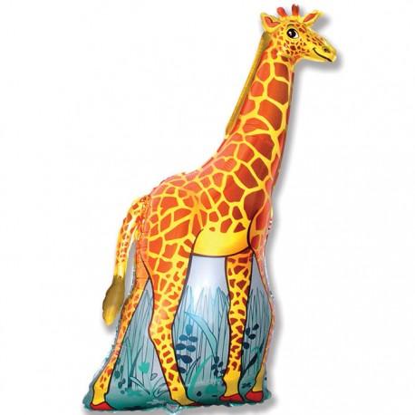 И 14 Жираф (оранжевый) / Girafe / 1 шт / (Испания)