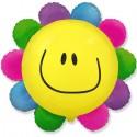 Шар Цветик - многоцветик солнечная улыбка 78см