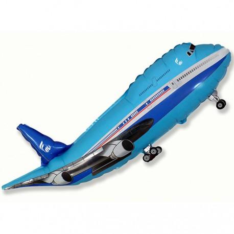 И 14 Самолет (синий) / Plane / 1 шт / (Испания)