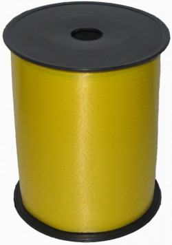 Лента бобина 0,5 см / 500 м Желтая (Россия)