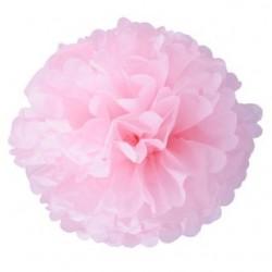 Помпон из бумаги 35 см светло-розовый