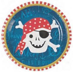 Набор тарелок Пиратская бухта 23см 6шт