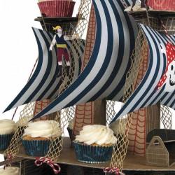 Набор для капкейков Пиратская бухта 13x20см