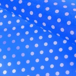 """Бумага упаковочная тишью """"Горох"""" 50 х 66 см, голубой 1149553"""