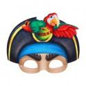 """Маска карнавальная """"Пират в шляпе с попугаем"""", 22,9х19,1 см 1023123"""