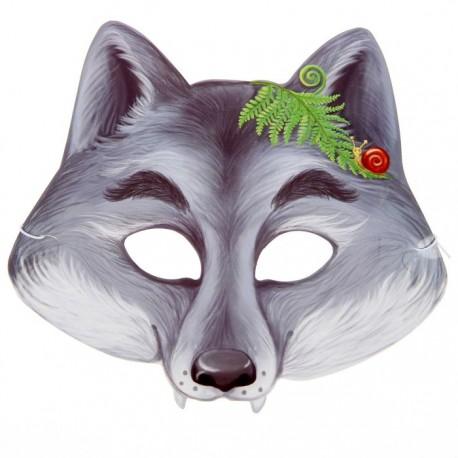 "Маска карнавальная ""Серый волк"", 21,6 х 19,5 см 1408248"