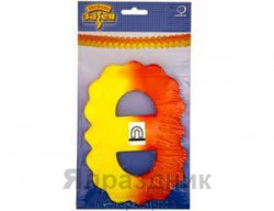 Гирлянда Декор 3,6м оранжево-желтая (460 7129639812)