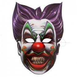 Маска карнавальная Клоун 22х31см