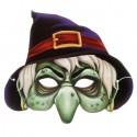 "Маска карнавальная ""Ведьма"", 25,4 х 22,8 см 1353909"