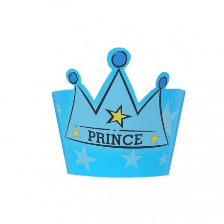 """Украшение для кексов """"Принц"""" с короной (набор 12 шт.) 1277416"""