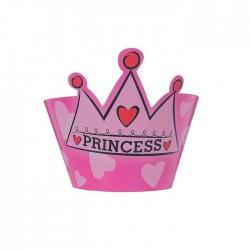 """Украшение для кексов """"Принцесса"""" с короной (набор 12 шт.) 1277415"""