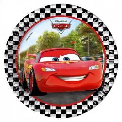 "Р Тарелки 20см ""Тачки. Формула"" /Cars Formula/ набор 8шт/ (Греция)"