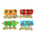 Карнавальный браслет для восточных танцев (набор 2 штуки) с монетами, цвета МИКС 1131232