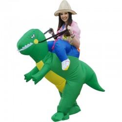 Костюм надувной Динозавр