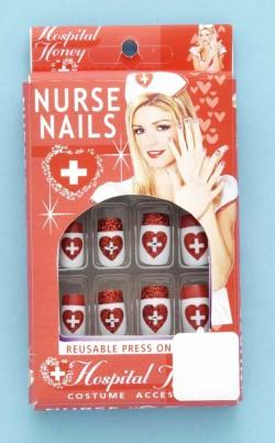 Накладные ногти медсестры ККЖ-4262