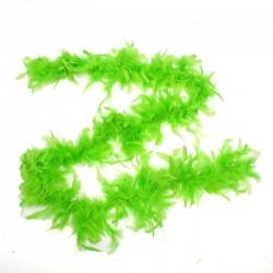Карнавальный шарф перо 1,8 метра 30 грамм, цвет зеленый 1216250