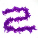 Карнавальный шарф перо 1,8 метра 30 грамм, цвет фиолетовый