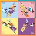 Салфетки Angry Birds Stella 33см 12шт