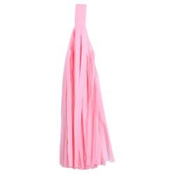 """Помпон """"Кисточка"""" 35 х 25 см 5 листов светло-розовый"""