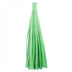 Помпон Кисточка 5 листов светло-зеленый