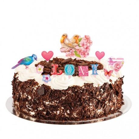 """Набор для украшения торта """"Для тебя"""" 1116140"""