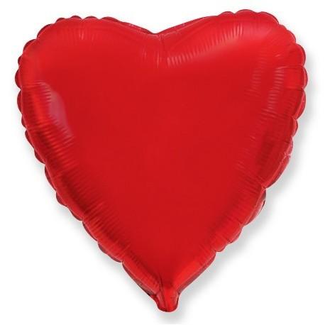 И 9 Сердце Красный / Heart Red / 1 шт / (Испания)