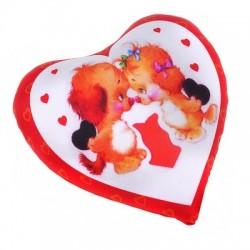 Валентинка-сердце антистресс 18 см 2585/КР-6 Акция1