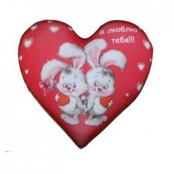 Валентинка-сердце антистресс 18 см