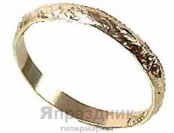 Кольцо Обручальное алюмин золотое 288штА