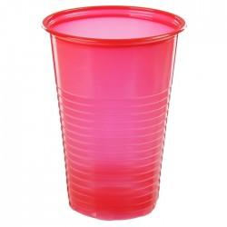 Набор стаканов Красный 100шт