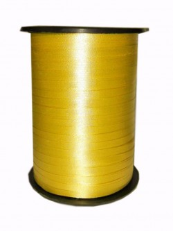 Лента бобина 0,5 см / 500 м Цвет Золото (Россия)