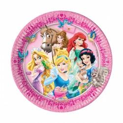 Тарелка Принцессы и животные 23см 8шт/Р (5201184826447)