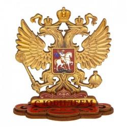 """Фигура орел на подставке """"С Юбилеем"""", 10 х 10,5 см"""