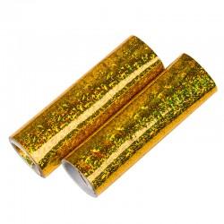 Серпантин золото голография 2шт.