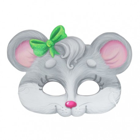"""Маска карнавальная """"Мышка"""", 24,1 х 17,8 см"""